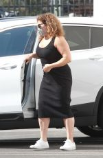 JUSTINA MACHADO Arrives at DWTS Studio in Los Angeles 10/28/2020