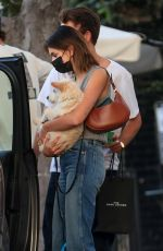 KAIA GERBER and Jacob Elordi Out with Their Dog in Los Angeles 10/20/2020