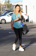 KAITLYN BRISTOWE Arrives at DWTS Studio in Los Angeles 10/27/2020