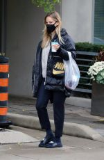 KALEY CUOCO Leaves a Spa in Toronto 10/26/2020