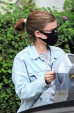 KATE MARA Wearing a Mask Out in Beverly Hills 10/22/2020