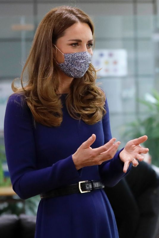 KATE MIDDLETON at Imperial College in London 10/14/2020