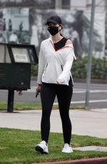 KATHERINE SCHWARZENEGGER Out in Santa Monica 10/18/2020