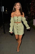 KAYLEIGH MORRIS Night Out in London 10/21/2020