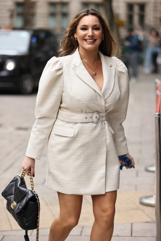 KELLY BROOK Arrives for Her Heart Radio Show in London 10/16/2020
