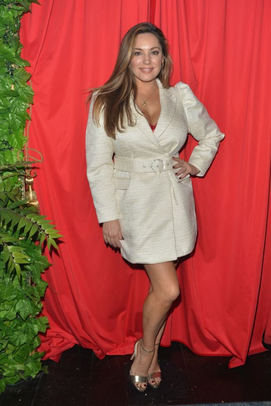 KELLY BROOK at a Cabaret Show at Proud Embankment in London 10/16/2020
