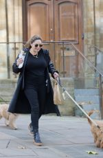 KELLY BROOK Out with Her Dog in Hampstead 10/22/2020