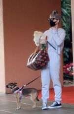 KELLY OSBOURNE Out with Her Dogs in Beverly Hills 10/26/2020