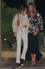 KENDALL and CAITLYN JENNER at Nobu in Malibu 10/12/2020