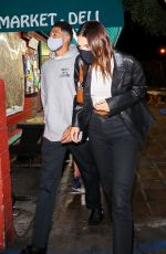 KENDALL JENNER and Devin Booker Out for Dinner in West Hollywood 10/03/2020