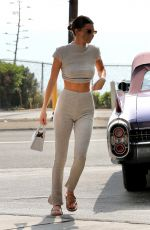 KENDALL JENNER at a Gas Station in Malibu 10/08/2020