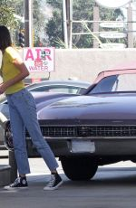 KENDALL JENNER at a Gas Station in Malibu 10/12/2020