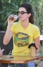 KENDALL JENNER Out for Lunch in Malibu 10/12/2020