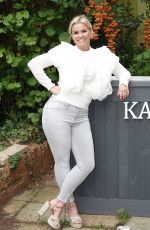 KERRY KATONA at Her Bar in Sussex 10/11/2020
