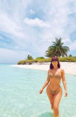KIM KARDASHIAN in Bikini - Instagram Photos 10/26/2020
