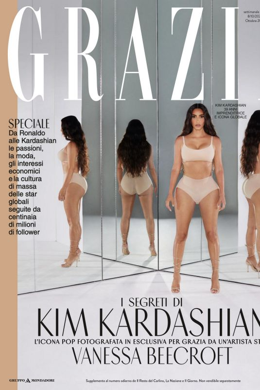 KIM KARDASHIAN in Gazia Magazine, Italy October 2020