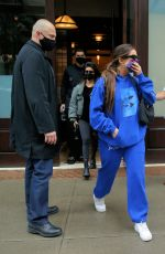 KOURTNEY KARDASHIAN and ADDISON RAE Leaves Greenwich Hotel in New York 10/12/2020