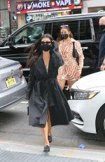 KOURTNEY KARDASHIAN and ADDISON RAE Leaves Their Hotel in New York 10/11/2020