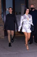 KOURTNEY KARDASHIAN and ADDISON RAE Out for Dinner in New York 10/11/2020
