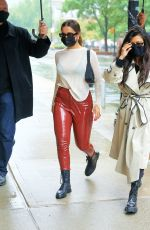 KOURTNEY KARDASHIAN and ADDISON RAE Out in New York 10/12/2020