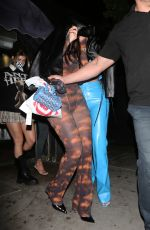 KYLIE JENNER and ANSATASIA KARNIKOLAOU at The Nice Guy in West Hollywood 10/20/2020