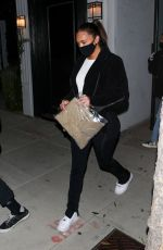 KYLIE JENNER and ANSTASIA KARANIKOLAOU Leaves a Voting Popup in West Hollywood 10/26/2020