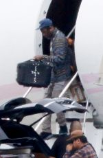 KYLIE JENNER and Travis Scott at Airport in Los Angeles 10/26/2020