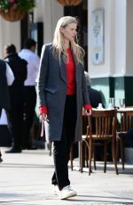 LARA STONE Out and About Primrose Hill 10/19/2020