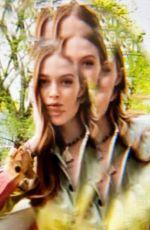 LARSEN THOMPSON - Love Magazine Facetime Mhotoshoot, May 2020