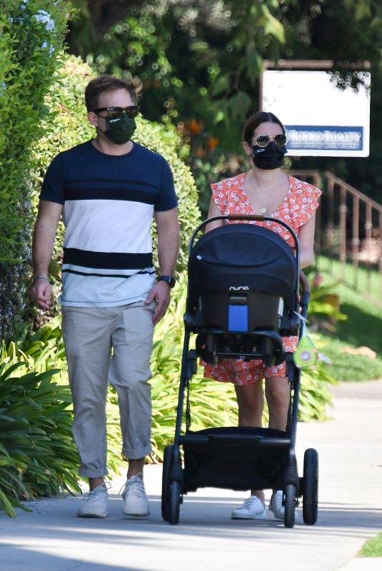 LEA MICHELE and Zandy Reich Out in Brentwood 10/13/2020