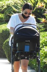 LEA MICHELE Out in Santa Monica 09/30/2020