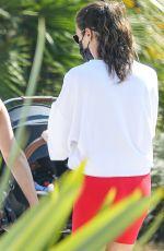 LEA MICHELE Out in Santa Monica 10/07/2020