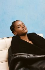 LETITIA WRIGHT for The Edit by Net-a-porter, October 2020