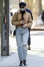 LILI REINHART Out for Coffee in Vancouver 10/28/2020