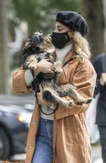 LILI REINHART Out with Her Dog in Vancouver 10/04/2020