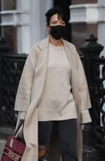 LILY ALLEN Out and About in London 10/20/2020