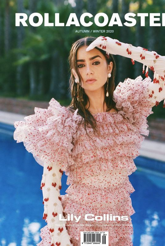 LILY COLLINS for Rollacoaster, Fall/Winter 2020