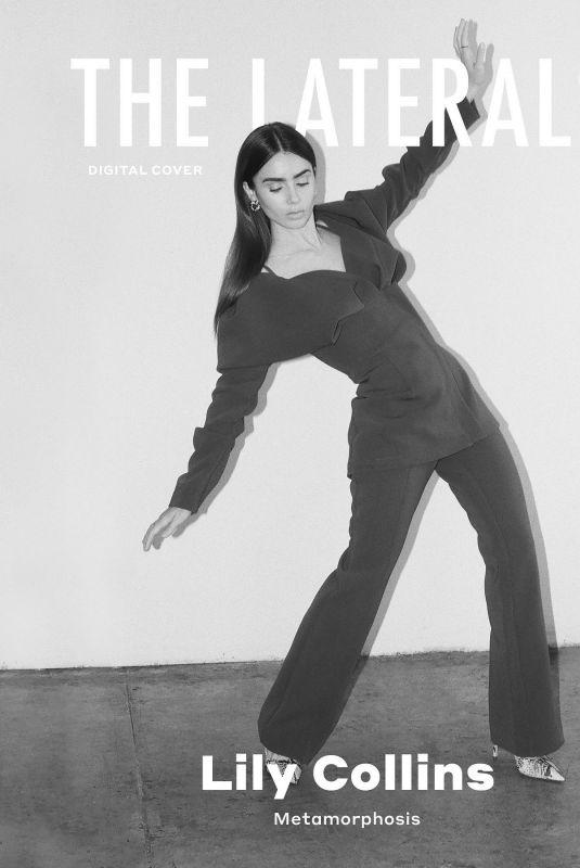 LILY COLLINS for The Laterals, October 2020