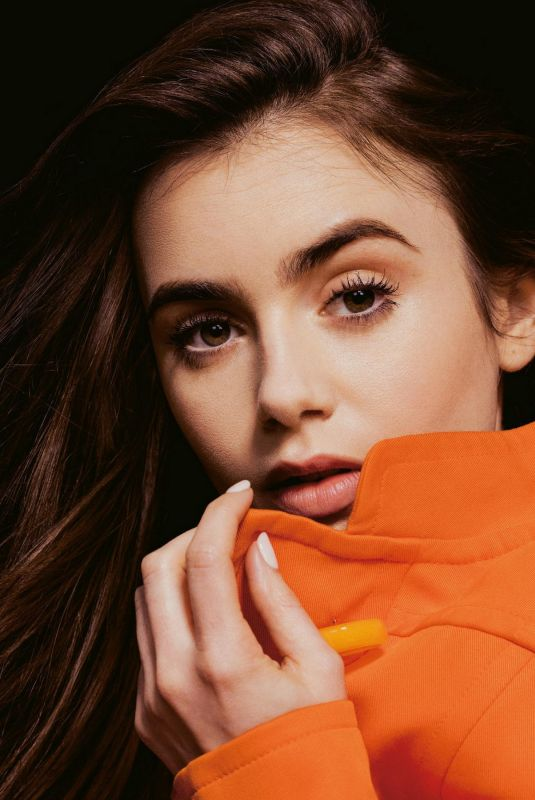 LILY COLLINS in Grazia Magazine, Italy October 2020