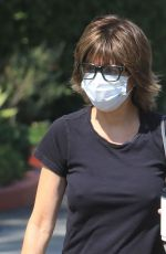 LISA RINNA Out and About in Los Angeles 10/11/2020