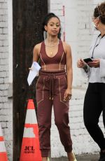 LIZA KOSHY at a Dance Studio in Los Angeles 10/22/2020