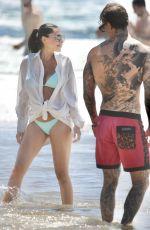 LONDON SHAY GOHEEN in Bikini at a Beach on Gold Coast 10/11/2020