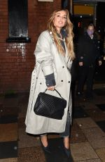 LOUISE REDKNAPP Leaves Clapham Grand in London 10/02/2020