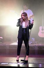 LOUISE REDKNAPP Performs at a Social Distancing Show in London 10/02/2020