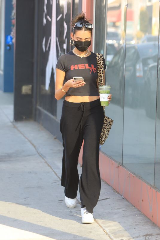 MADISON BEER Out Shopping on Melrose Avenue in Hollywood 09/30/2020