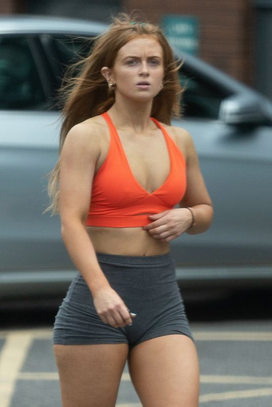 MAISIE SMITH Arrives at Strictly Come Dancing Rehearsals in London 10/21/2020