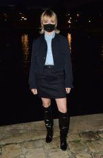MAISIE WILLIAMS at AMI Alexandre Mattiussi Show at Paris Fashion Week 10/03/2020
