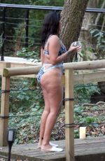 MALIN ANDERSSON in Swimsuit Celebrates Her 28th Birthday at Copper Cabin in West Sussex 10/20/2020