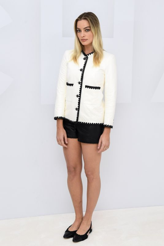 MARGOT ROBBIE at Virtual Presentation of Chanel Fashion Show in Paris 10/06/2020