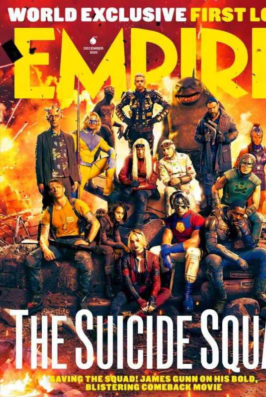 MARGOT ROBBIE on the Cover of Empire Magazine, The Suicide Squad Issue, December 2020